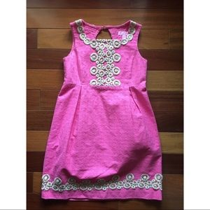 Lilly Pulitzer Girls Pink Dress Size 10